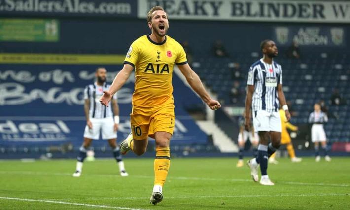Harry Kane bắn hạ West Brom, Tottenham dẫn đầu Premier League - Ảnh 1.