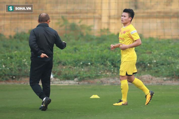 Quang Hải vắng mặt trong buổi tập, thầy Park yêu cầu ĐT Việt Nam rèn thêm ở khung giờ lạ - Ảnh 2.