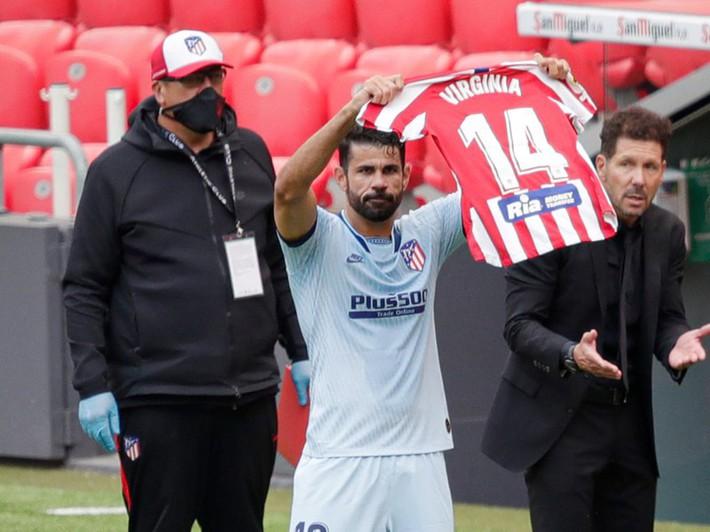 Diego Costa giải cứu Atletico, dành tặng bàn thắng cho đồng nghiệp u não - Ảnh 1.