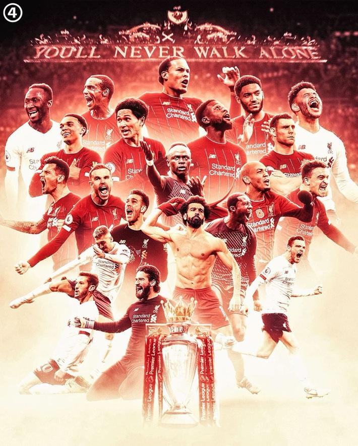 Những con số thống kê nghe thôi đã phải trầm trồ của Liverpool sau ngôi vô địch Ngoại hạng Anh lịch sử - Ảnh 1.