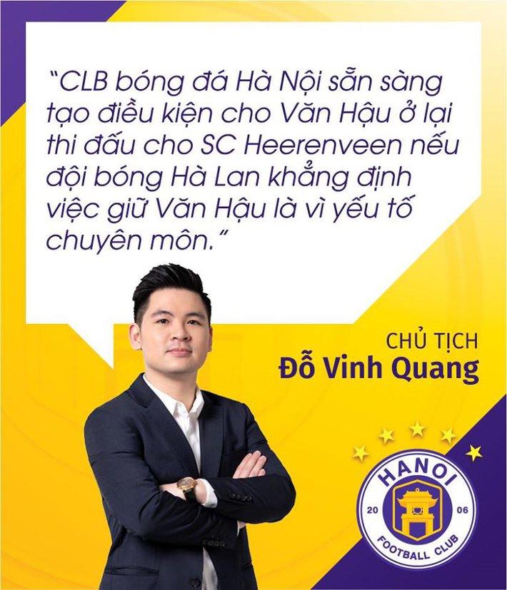 Văn Hậu tuyệt vọng, Hà Nội FC đành chi tiền hỗ trợ cho... Heerenveen - Ảnh 2.