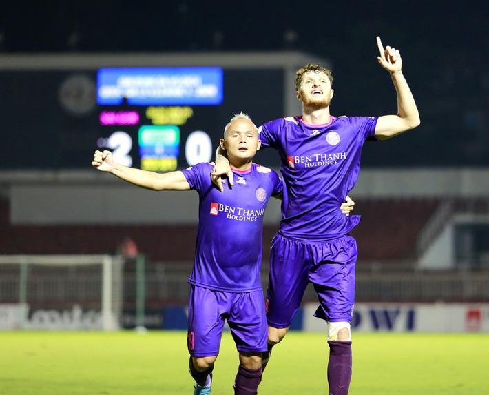 NÓNG: Hà Nội FC đạt thỏa thuận với ngoại binh của Sài Gòn FC, hé lộ mức lương siêu khủng - Ảnh 1.