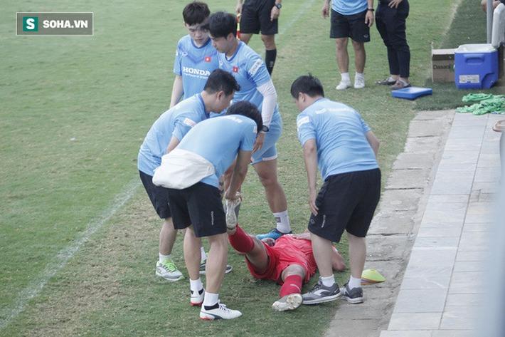 Thầy Park bật cười chua chát trước thảm cảnh U22 Việt Nam đuối sức, đá không nổi 90 phút - Ảnh 6.