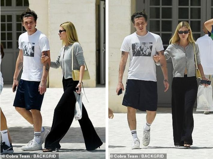 Con dâu tương lai vi vu sang Italy du lịch cùng gia đình Beckham, gây chú ý trong lần đầu lộ diện cạnh Brooklyn kể từ sau tuyên bố đính hôn - Ảnh 4.