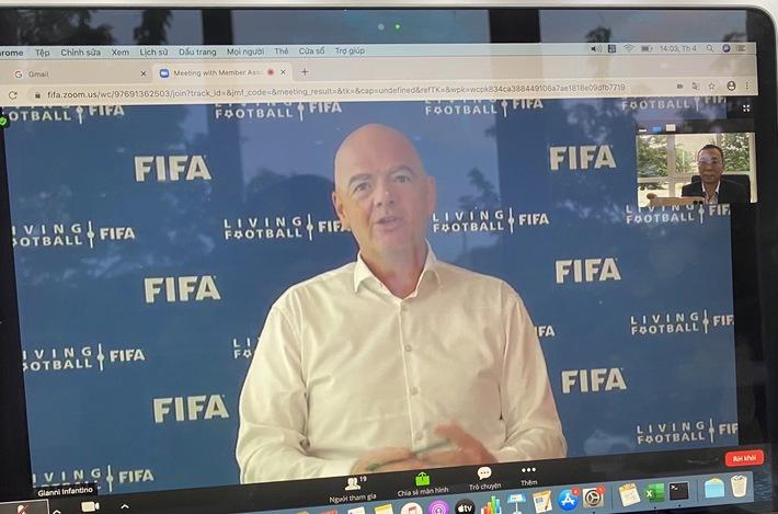 NÓNG: FIFA hỗ trợ VFF 1,5 triệu USD để vượt qua khó khăn vì Covid-19 - Ảnh 1.