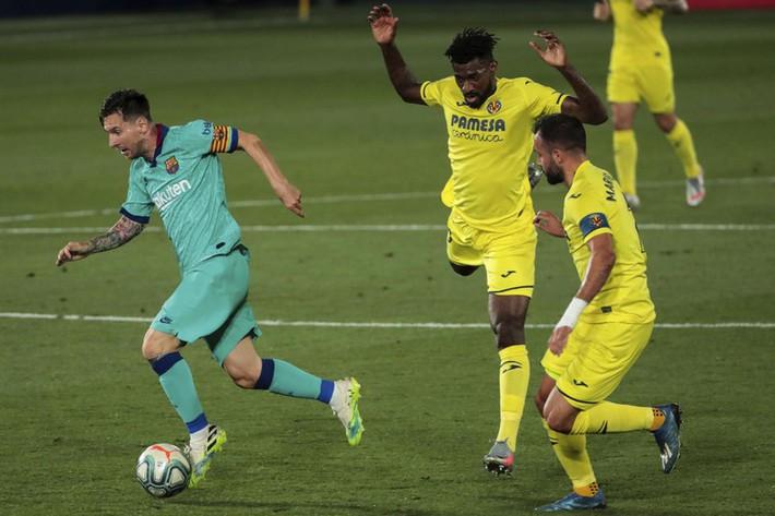 Messi kiến tạo, Griezmann ghi bàn giúp Barca thắng đậm Villarreal - Ảnh 1.