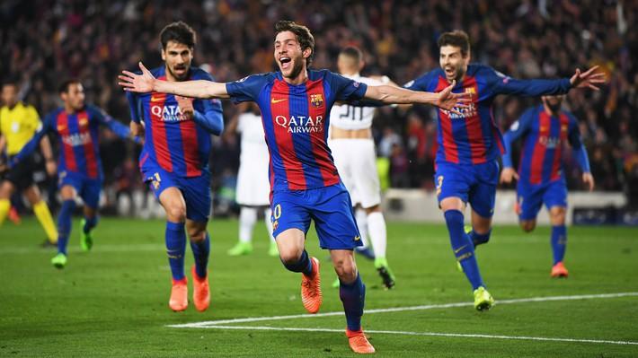 Ngược dòng kinh điển trong phút bù giờ, Neymar và PSG thẳng tiến vào bán kết Champions League - Ảnh 1.