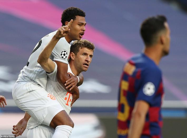 Messi sốc nặng, Barcelona thất bại kinh hoàng 2-8 dưới tay Bayern Munich - Ảnh 1.