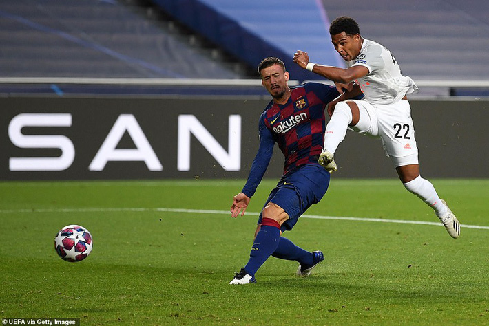 Messi sốc nặng, Barcelona thất bại kinh hoàng 2-8 dưới tay Bayern Munich - Ảnh 2.