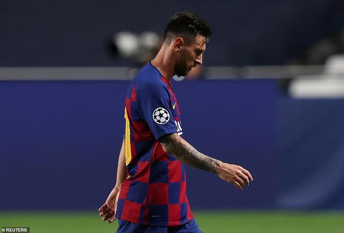 Messi sốc nặng, Barcelona thất bại kinh hoàng 2-8 dưới tay Bayern Munich - Ảnh 3.