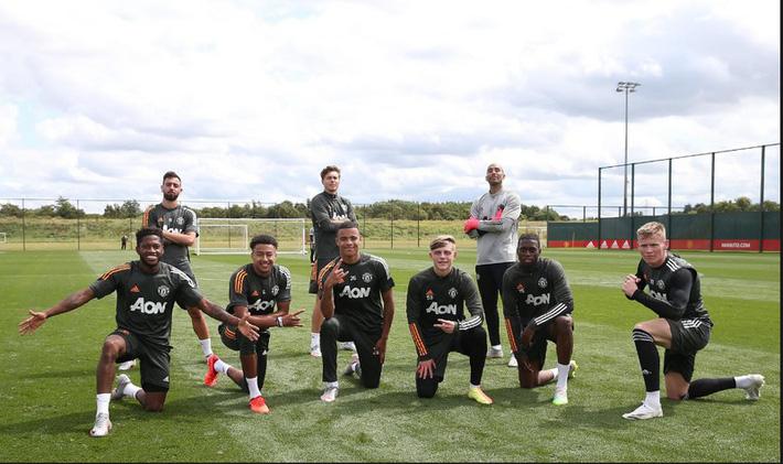 Dàn sao MU trở lại tập luyện hướng tới mục tiêu vô địch Europa League - Ảnh 10.