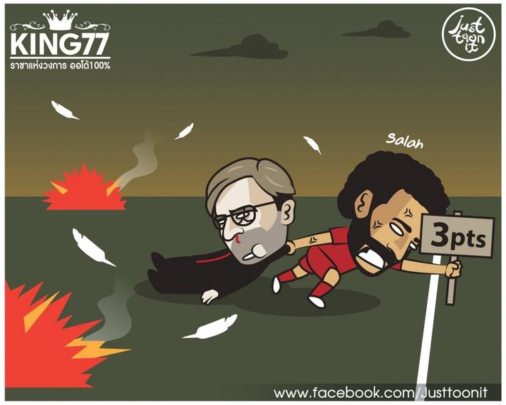 Biếm họa 24h: Mohamed Salah cứu Liverpool thoát nạn trước Leeds - Ảnh 2.