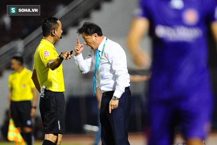 HLV Chung Hae-seong từ chối nhắc lại vấn đề trọng tài, tiết lộ về điểm yếu của CLB Hà Nội - Ảnh 2.