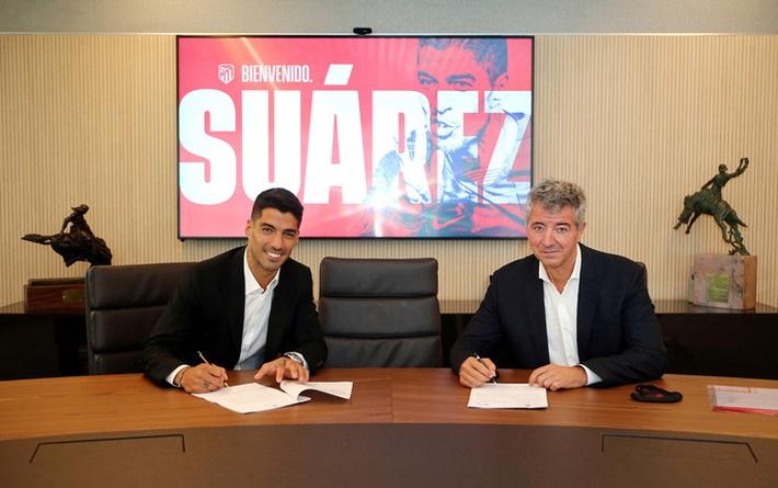 Những hình ảnh đầu tiên của Luis Suarez ở đội bóng mới Atletico Madrid - Ảnh 7.