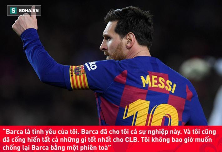 Chính thức tuyên bố ở lại Nou Camp, Messi không chút nể nang mắng Chủ tịch Barca - Ảnh 4.