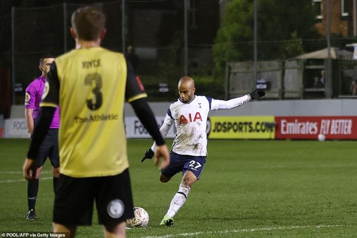 Tiền đạo Brazil lập hat-trick, Tottenham đại thắng 5 sao tại FA Cup - Ảnh 6.