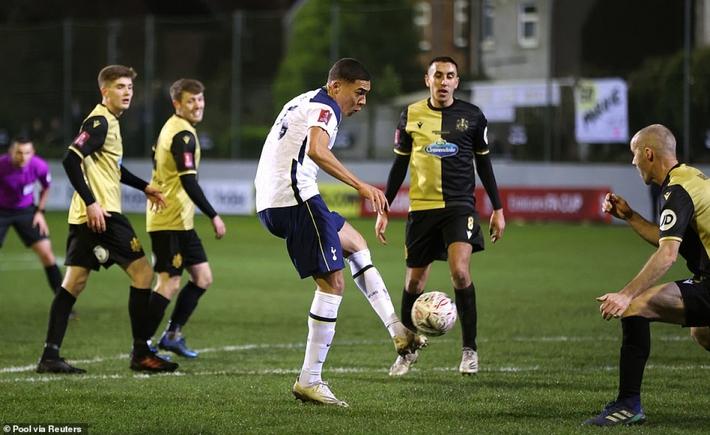 Tiền đạo Brazil lập hat-trick, Tottenham đại thắng 5 sao tại FA Cup - Ảnh 8.