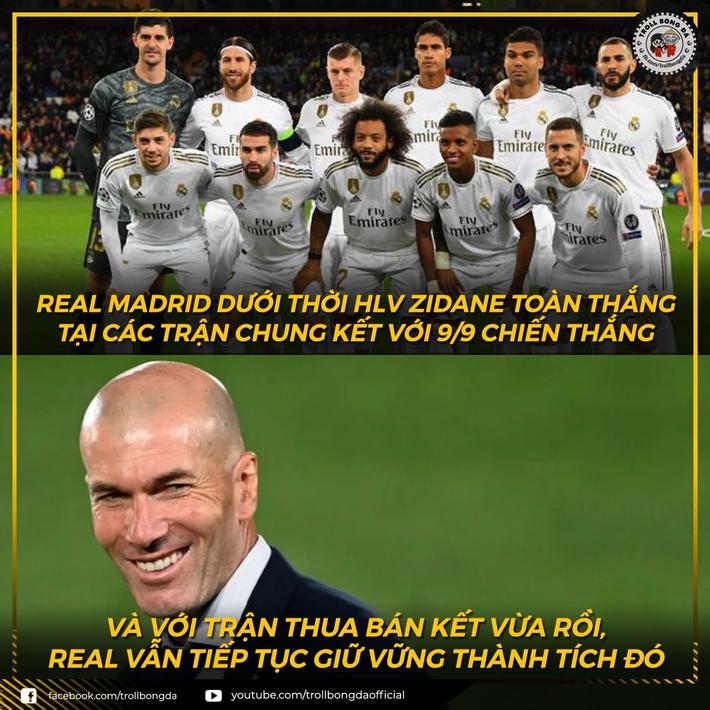 Biếm họa 24h: HLV Zidane giữ nguyên thành tích toàn thắng chung kết - Ảnh 1.