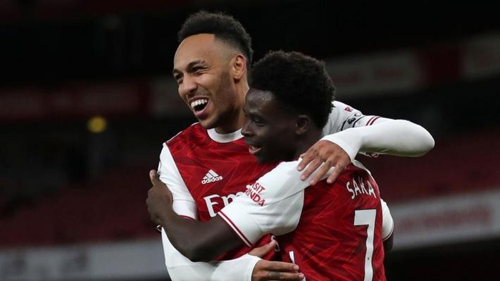 Aubameyang lập cú đúp, Arsenal đại thắng Newcastle - Ảnh 1.