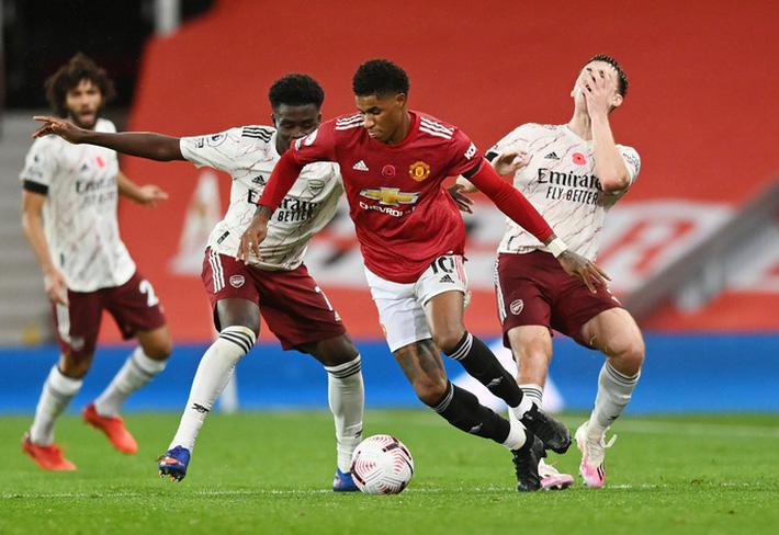 Arsenal - Man United: Tử chiến tại Emirates - Ảnh 1.