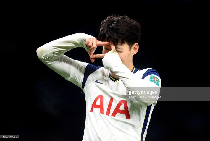 Son Heung-min ghi bàn sau pha tốc biến, Mourinho ngạo nghễ thách thức thành Manchester - Ảnh 3.