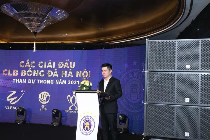 Hà Nội FC làm lễ xuất quân, đặt nhiều mục tiêu quan trọng cho năm 2021 - Ảnh 1.