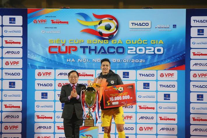 Bùi Hoàng Việt Anh xuất sắc nhất Siêu cúp Quốc gia 2020 - Ảnh 1.