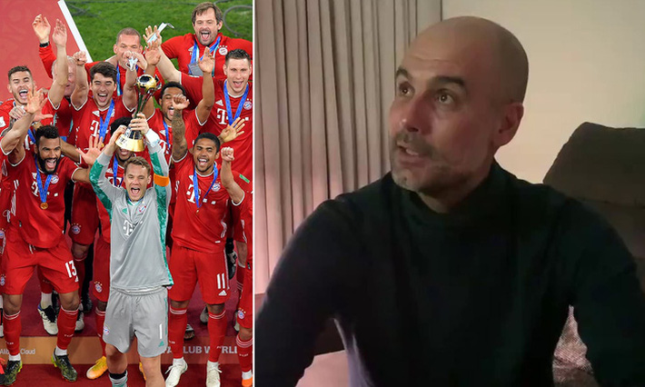 Pep Guardiola chúc mừng đội bóng cũ, gợi ý cuộc đấu thế kỷ giữa Barca 2009 và Bayern 2020 - Ảnh 1.