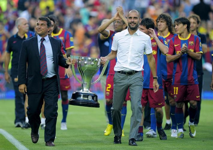 Pep Guardiola chúc mừng đội bóng cũ, gợi ý cuộc đấu thế kỷ giữa Barca 2009 và Bayern 2020 - Ảnh 2.