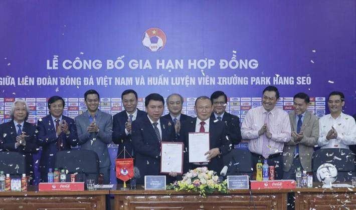 HLV Park Hang Seo có quyền từ chối gia hạn hợp đồng với VFF - Ảnh 1.