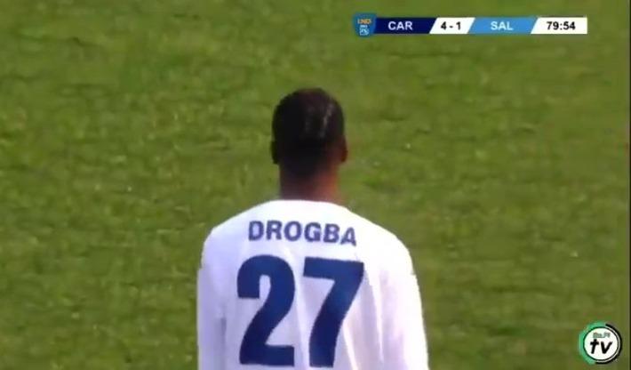Con trai Drogba ra mắt ở giải đấu nghiệp dư, fan lo lắng hổ phụ không sinh không hổ tử - Ảnh 1.