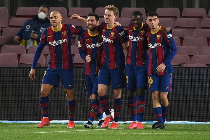 Messi tỏa sáng giúp Barca gỡ thế bế tắc trước đội áp chót La Liga - Ảnh 1.