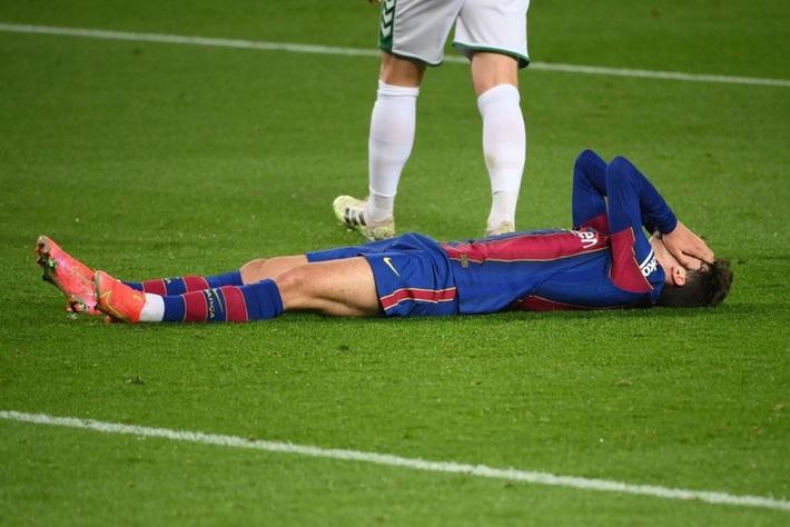 Messi tỏa sáng giúp Barca gỡ thế bế tắc trước đội áp chót La Liga - Ảnh 3.