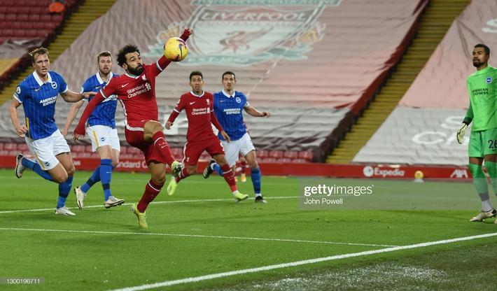 Thua sốc trên sân nhà, Liverpool tự đóng cửa tranh ngôi vương với thành Manchester - Ảnh 1.