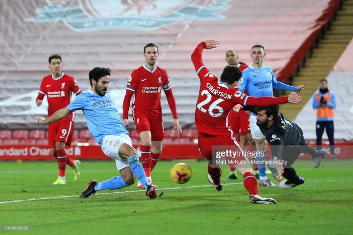 Thủ môn 2 lần tặng bàn thắng cho đối thủ, Liverpool thua tan nát trước Pep Guardiola - Ảnh 4.