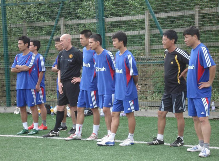 [Hồi ức] Đội bóng Việt Nam đạt á quân thế giới, khiến Argentina nể phục ở sân Old Trafford - Ảnh 2.