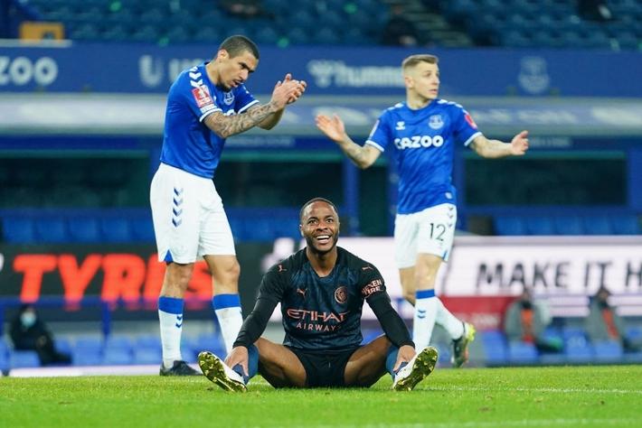 6 phút cuối ghi 2 bàn, Man City hạ Everton để giành vé bán kết FA Cup - Ảnh 6.