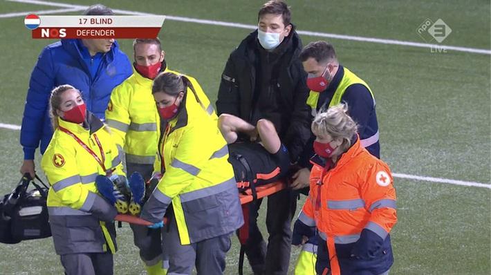 Cựu sao MU dính chấn thương khủng khiếp trong trận Hà Lan thắng đậm Gibraltar - Ảnh 1.