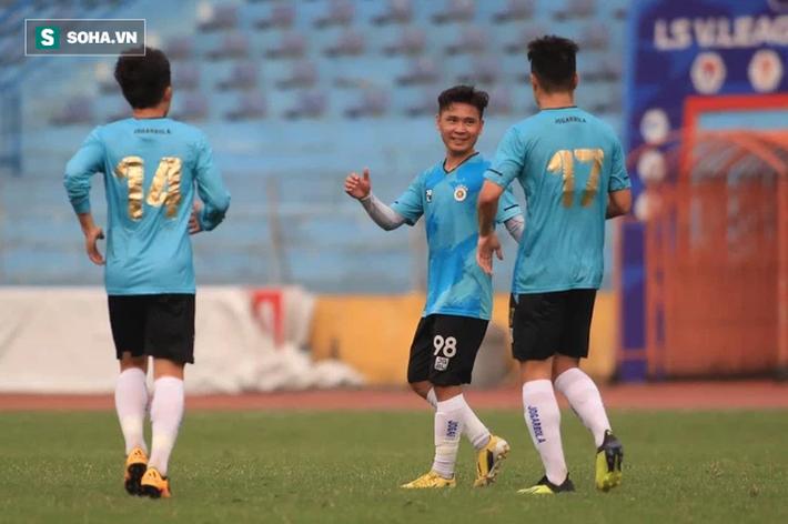 Hà Nội FC thắng giòn giã, chạy đà hoàn hảo cho V.League với đội hình tấn công dị biệt - Ảnh 1.