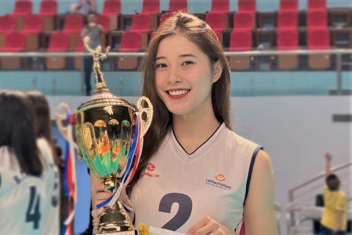 Thực hư thông tin Hoa khôi bóng chuyền 19 tuổi Đặng Thu Huyền giải nghệ - Ảnh 1.