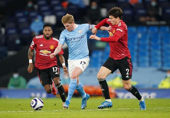 Chấm điểm cầu thủ MU vs Man City: Màn trình diễn để đời của Luke Shaw - Ảnh 4.