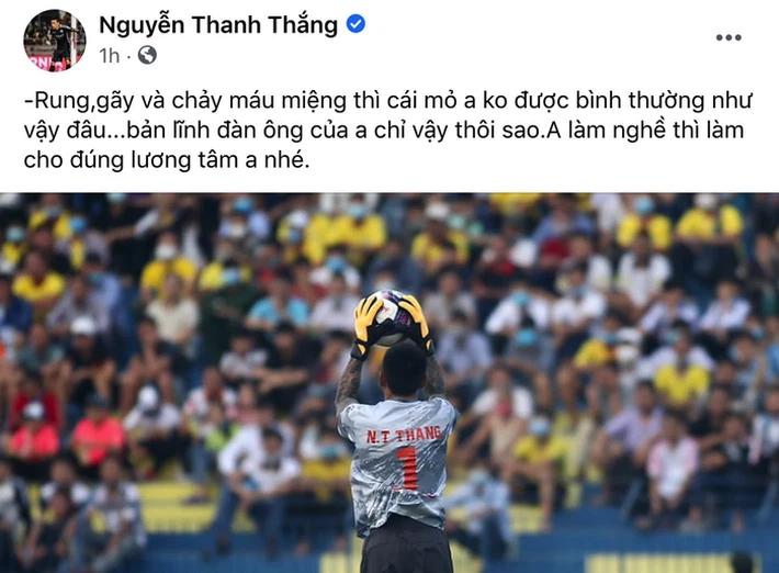 NÓNG: Trọng tài V.League muốn kiện thủ môn Thanh Thắng, mời công an vào cuộc - Ảnh 1.