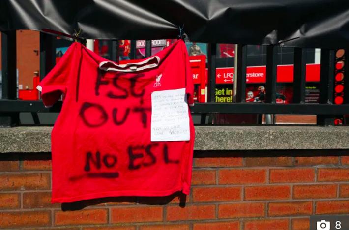 Biến căng ở Liverpool: Fan chúc đội nhà yên nghỉ vì gia nhập Super League - Ảnh 4.
