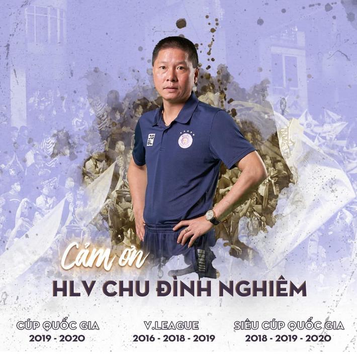 Hà Nội FC xác nhận chia tay Chu Đình Nghiêm, bỏ ngỏ cựu HLV tuyển VN ngồi ghế nóng - Ảnh 1.