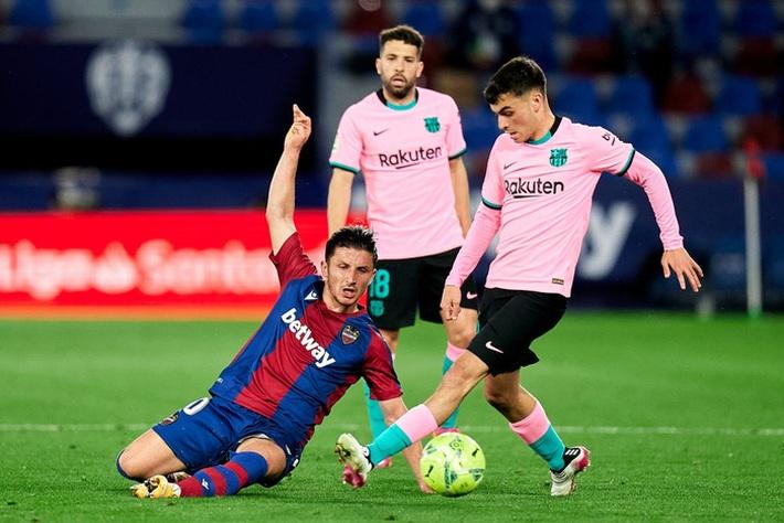 Hàng thủ thi đấu tệ hại, Barcelona sắp tan mộng vô địch La Liga - Ảnh 2.