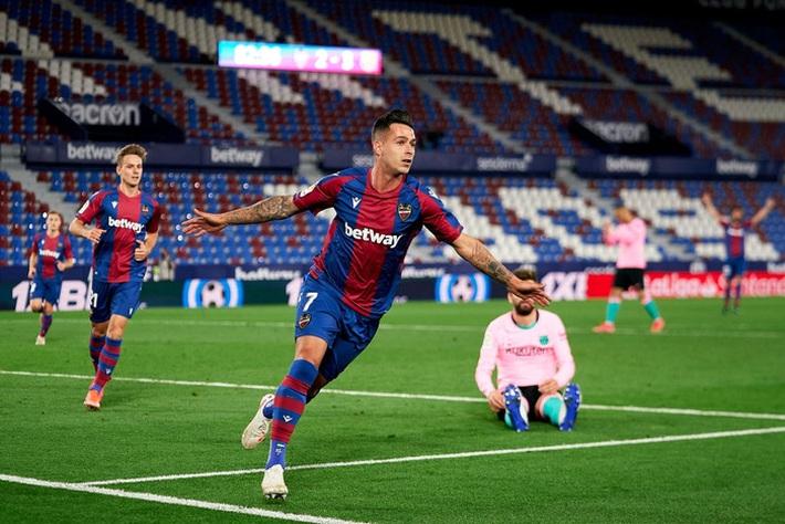 Hàng thủ thi đấu tệ hại, Barcelona sắp tan mộng vô địch La Liga - Ảnh 6.