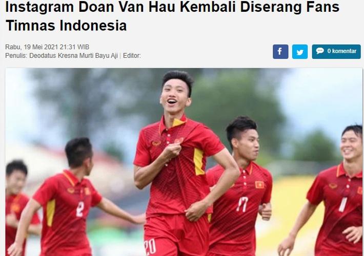 """Báo Indonesia: Tuyển Việt Nam ngày càng hừng hực khí thế để hủy diệt chúng ta"""" - Ảnh 2."""