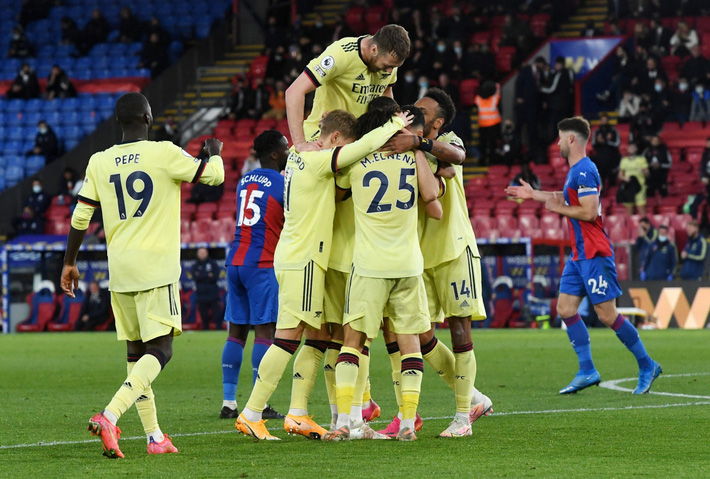 Thắng nhọc Crystal Palace, Arsenal nuôi hy vọng dự Cúp châu Âu - Ảnh 1.