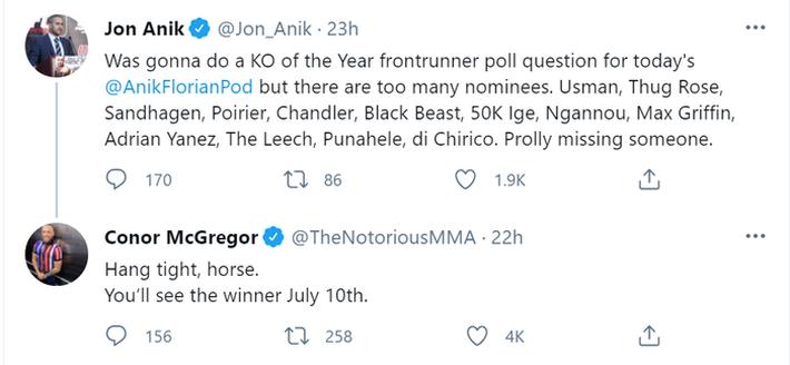 Conor McGregor cam kết sẽ hạ Dustin Poirier bằng cú knock-out của năm - Ảnh 1.