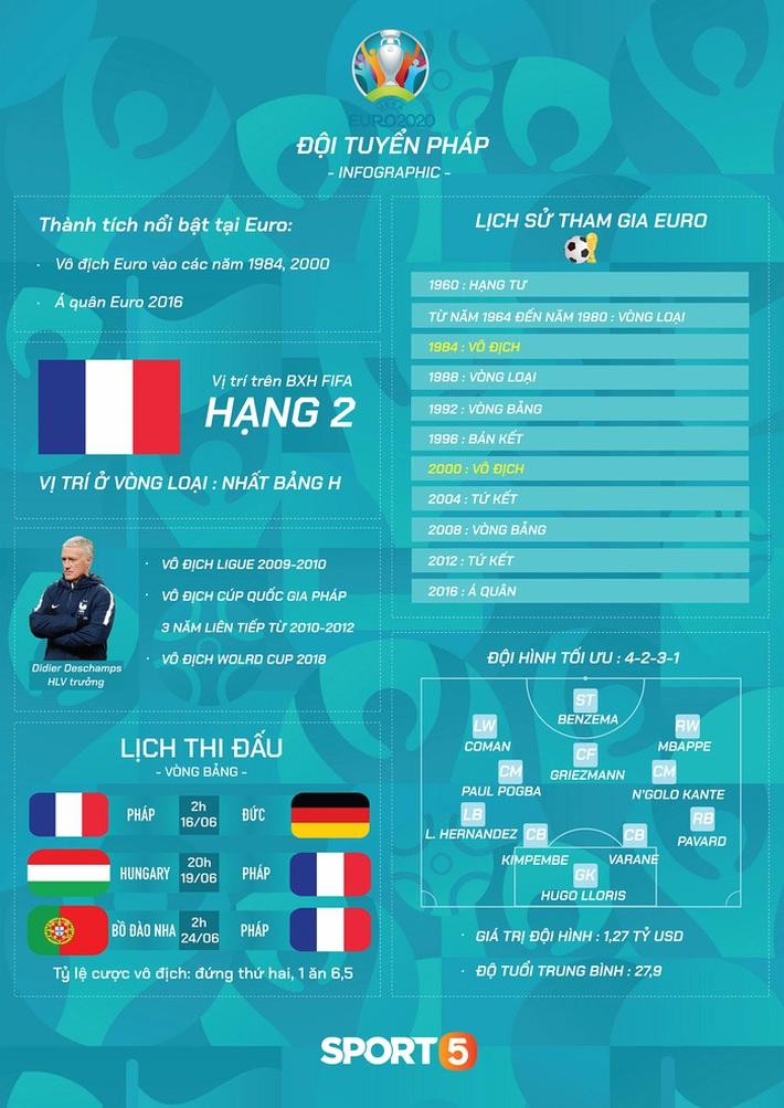 Tổng quan đội tuyển Pháp trước Euro 2020: Những chiến binh báo thù - Ảnh 1.
